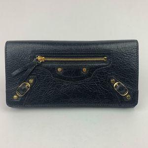 Balenciaga Bags - BALENCIAGA Classic Money Leather Wallet (Preloved)
